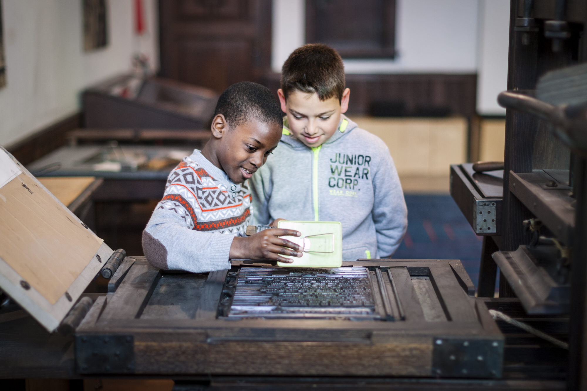 Workshop: Master printer – schools