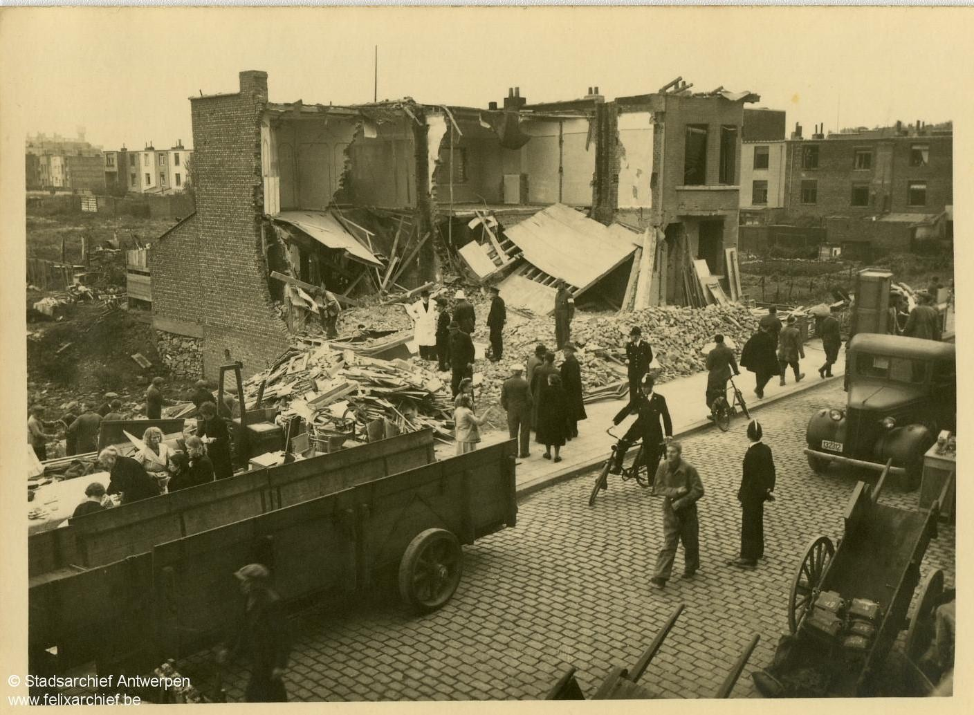 Antwerp during the Second World War