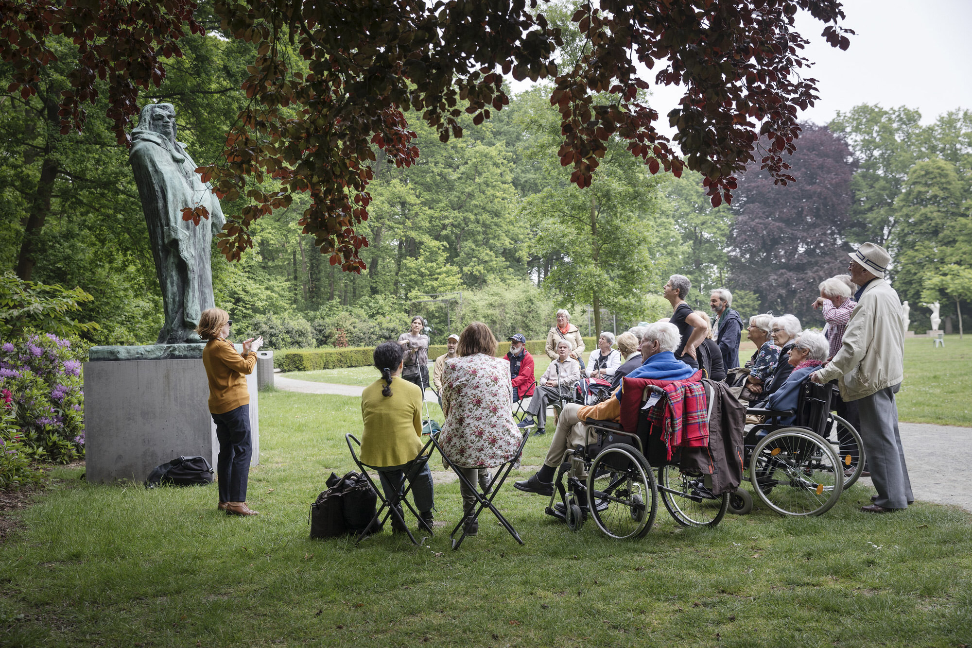 Meet me @ Middelheim Museum – people with dementia residing in residential care centres