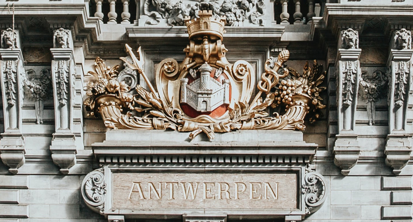 800 years of the city of Antwerp